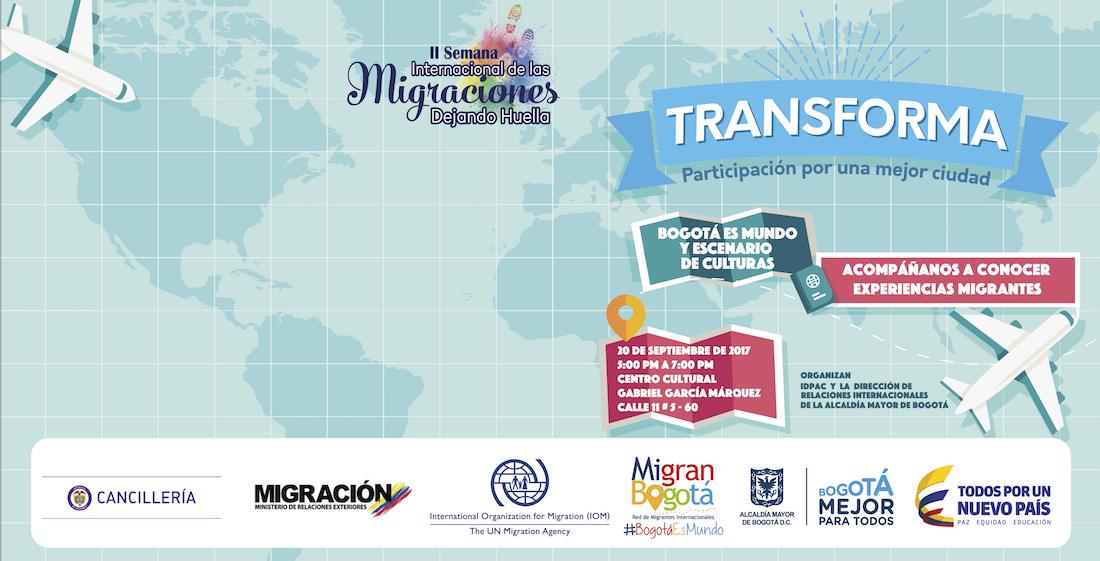 Porque  Bogotá es Mundo y Escenario de Culturas  7d9e1530121