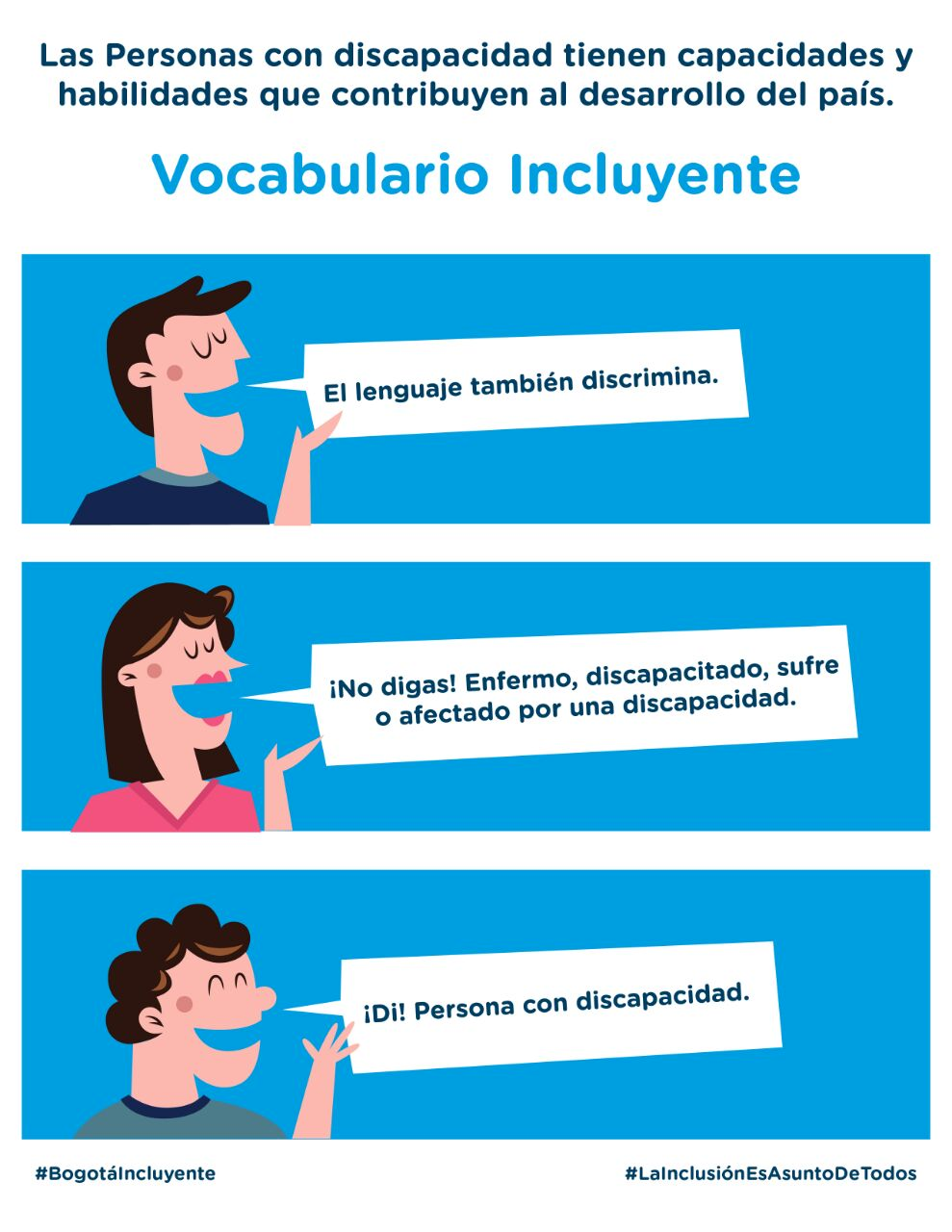 vocabulario incluyente