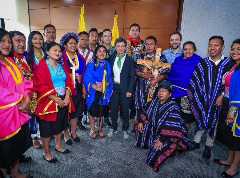 Con nuestra solidaridad aportamos al cuidado de las etnias indígenas de  Bogotá   Instituto Distrital de la Participación y Acción Comunal