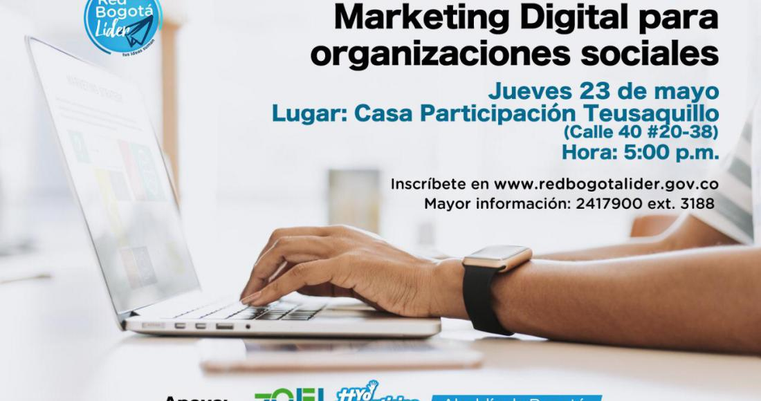Inscríbase al taller de Marketing Digital para Organizaciones Sociales