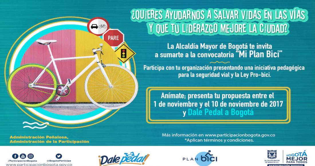 Convocatoria 'Mi Plan Bici'
